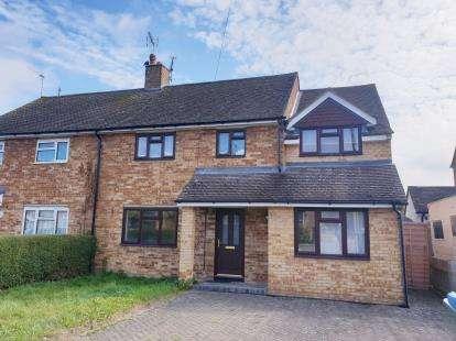 4 Bedrooms Semi Detached House for sale in Goss Avenue, Waddesdon, Buckinghamshire