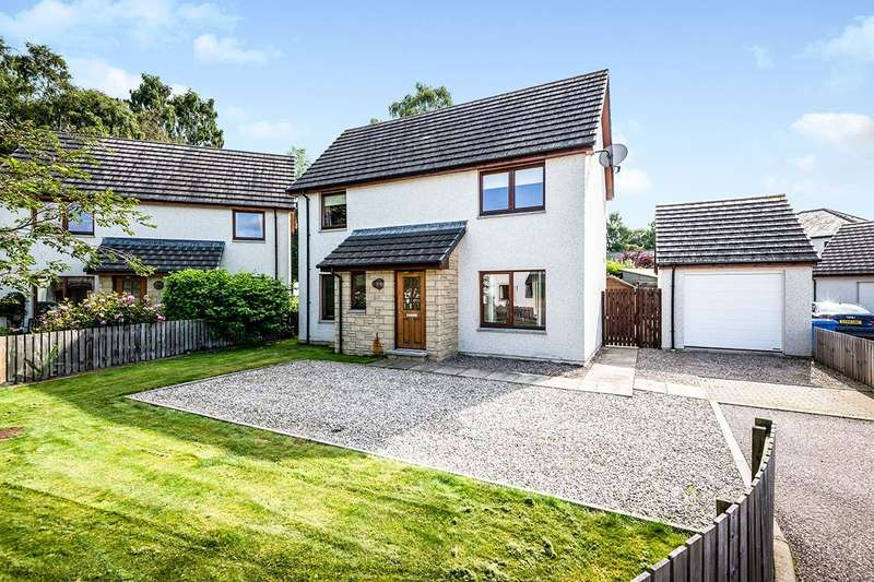 4 Bedrooms Detached House for sale in Oak Drive, Muir Of Ord, Ross-Shire, IV6