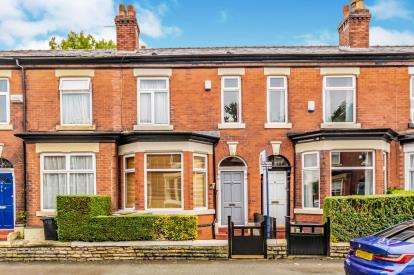 3 Bedrooms Terraced House for sale in Adswood Lane East, Cale Green, Stockport, Greater Manchester