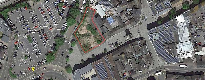 Land Commercial for sale in SITE FOR 38 APARTMENTS, Newton Abbot, Devon