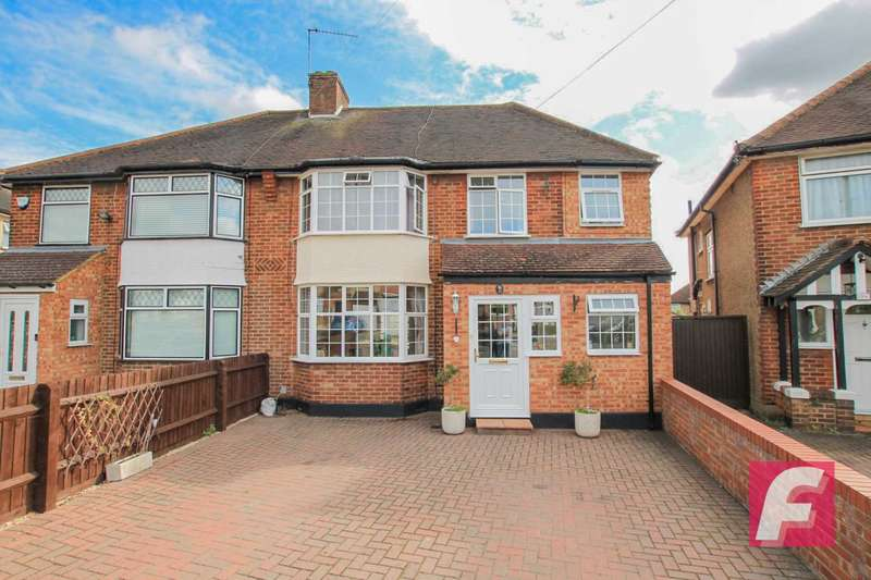 4 Bedrooms Semi Detached House for sale in Hibbert Avenue, Watford