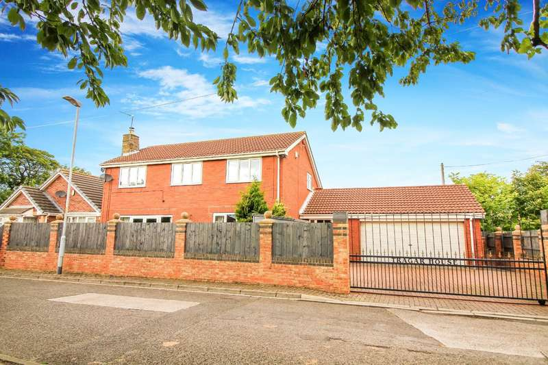 5 Bedrooms Detached House for sale in Malvins Close, Blyth