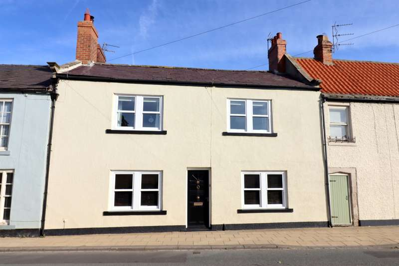 4 Bedrooms Terraced House for sale in Front Street, Staindrop, Darlington, DL2 3NB