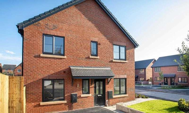 3 Bedrooms Semi Detached House for sale in The Sissiley, Oaktree Grange, Leyland