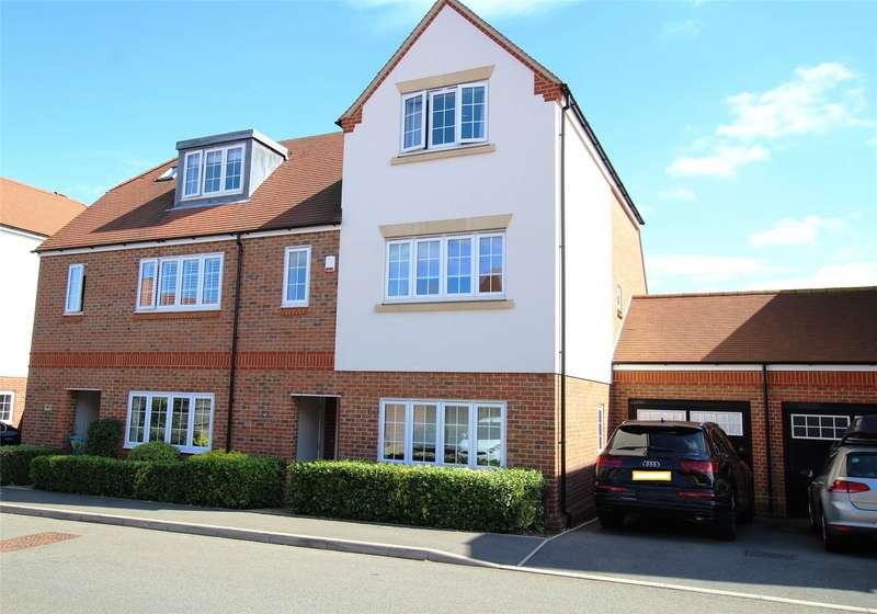 4 Bedrooms Semi Detached House for sale in Mortimer Crescent, Kings Park, St. Albans, Hertfordshire, AL3