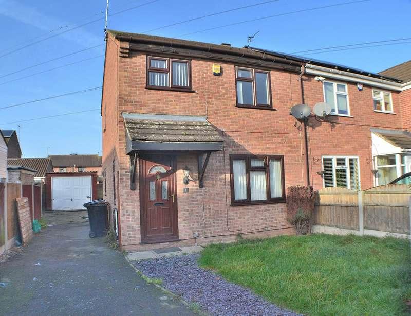 3 Bedrooms Semi Detached House for sale in Fox Close, Stenson Fields DE24
