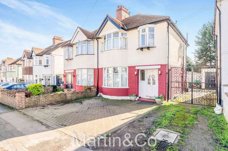3 Bedrooms Semi Detached House for sale in Forest Road, Sutton, SM3