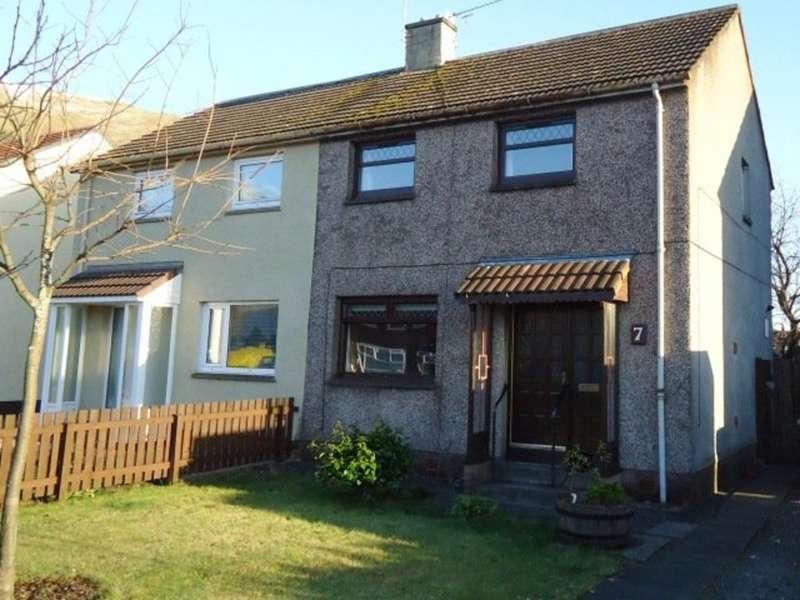 2 Bedrooms Semi Detached House for sale in Craighorn Road, Alva FK12