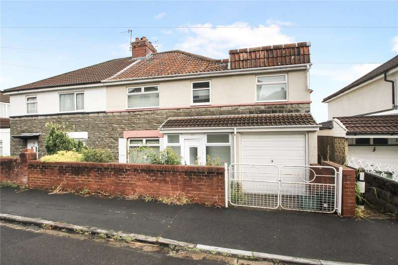 5 Bedrooms Semi Detached House for sale in Eastlyn Road, Bedminster Down, BRISTOL BS13