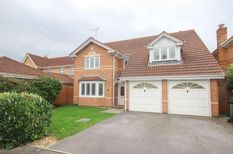 4 Bedrooms Detached House for sale in Hawkins Crescent, Bradley Stoke, Bristol BS32