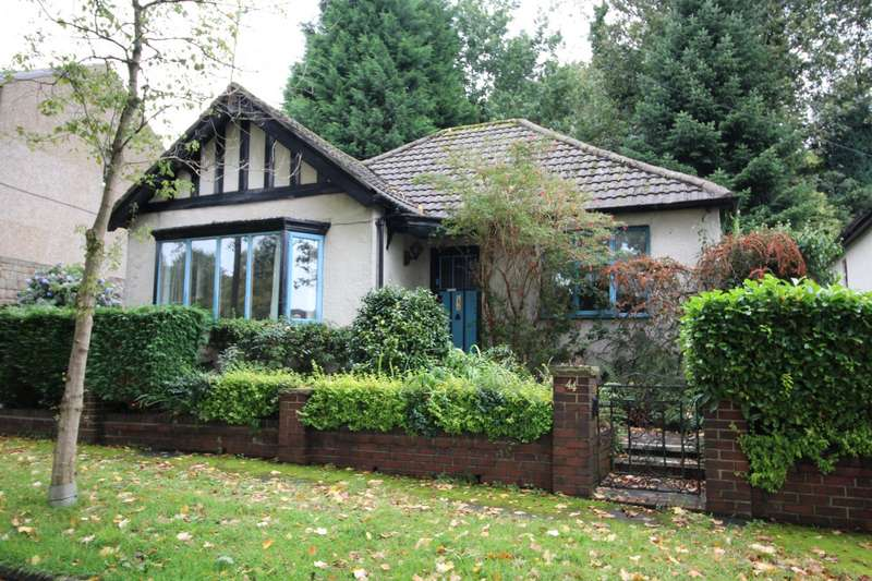 2 Bedrooms Detached Bungalow for sale in Oak Avenue, Todmorden, West Yorkshire, OL14