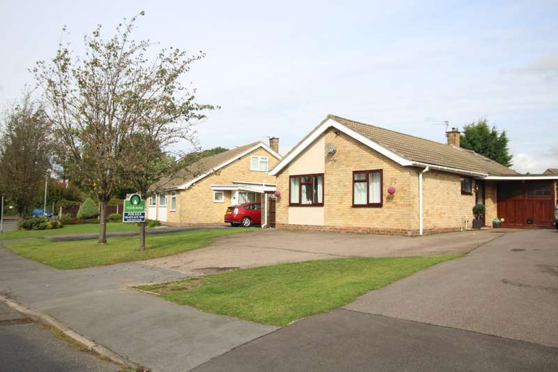3 Bedrooms Detached Bungalow for sale in Stoneygate Drive, Hinckley, Leicestershire, LE10