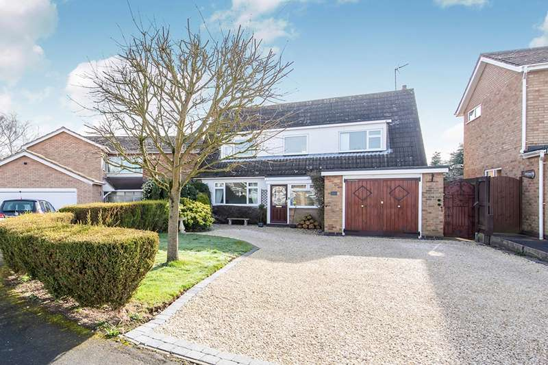 4 Bedrooms Detached House for sale in Marlborough Close, Burbage, Hinckley, Leicestershire, LE10