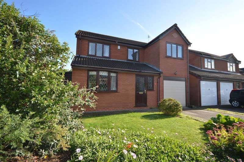 4 Bedrooms Detached House for sale in Camelot Way, Narborough, LE19 3BT