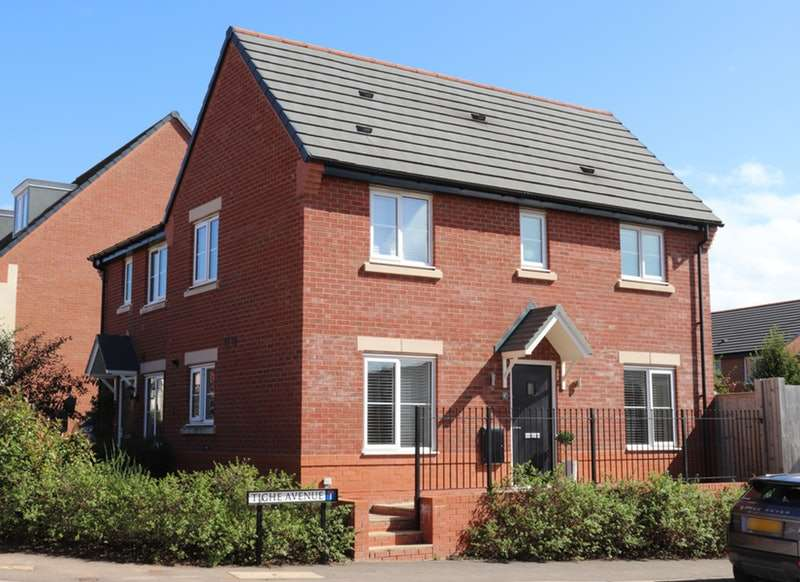 3 Bedrooms Semi Detached House for sale in Tighe Avenue, Winsford, Cheshire, CW7