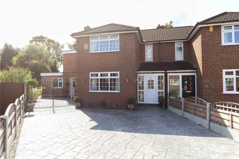 4 Bedrooms Semi Detached House for sale in Oakdene Avenue, Heaton Chapel, Stockport, SK4