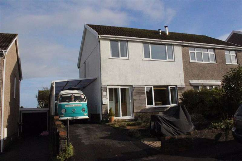 3 Bedrooms Semi Detached House for sale in Sardis Close, Waunarlwydd