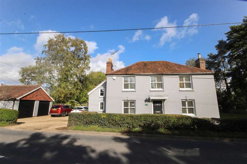 3 Bedrooms Detached House for sale in Warwick House, Winchester Road, Fair Oak, Eastleigh