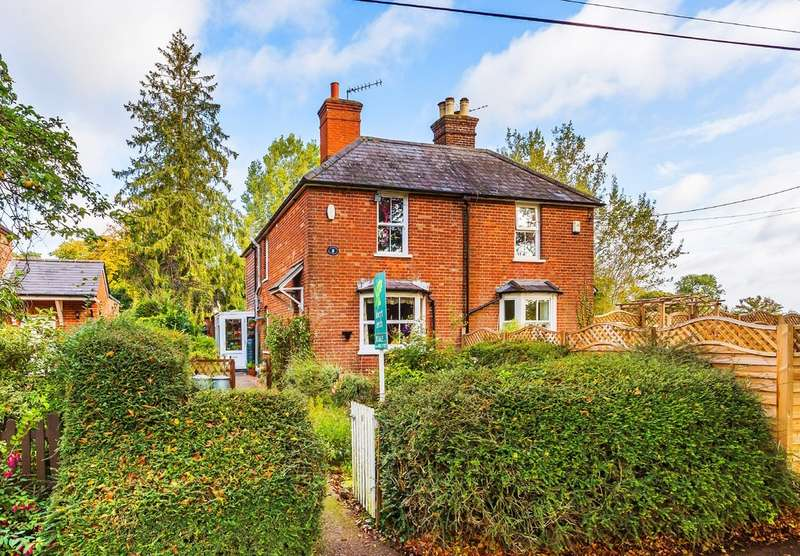 2 Bedrooms Semi Detached House for sale in Harts Lane, South Godstone, Surrey.