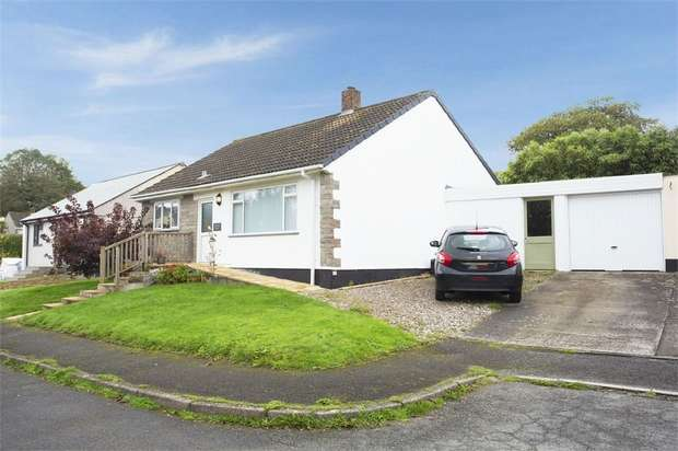 3 Bedrooms Detached Bungalow for sale in Barrie Crescent, Bodmin, Cornwall