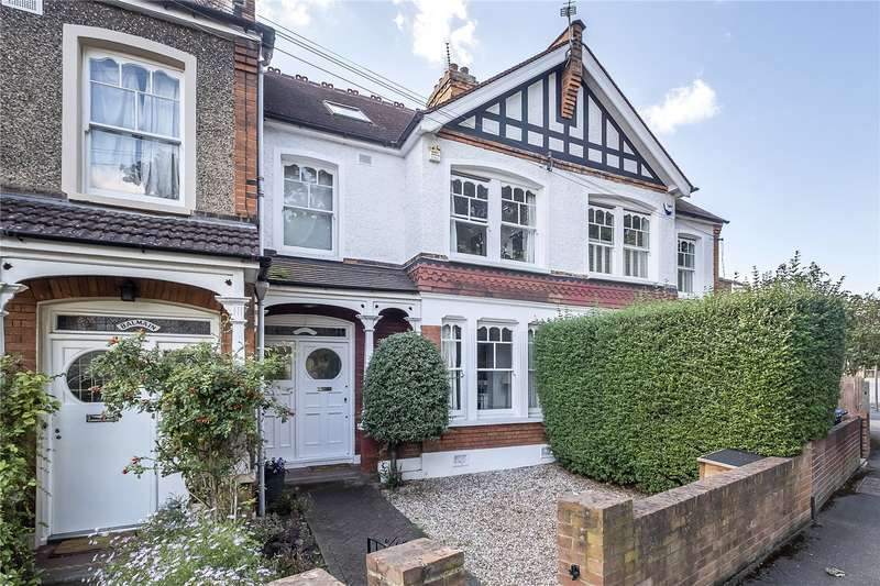 4 Bedrooms Terraced House for sale in Langham Road, West Wimbledon, London, SW20