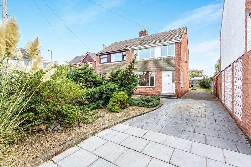 3 Bedrooms Semi Detached House for sale in Dodgeons Close, Poulton-le-Fylde, Lancashire, FY6
