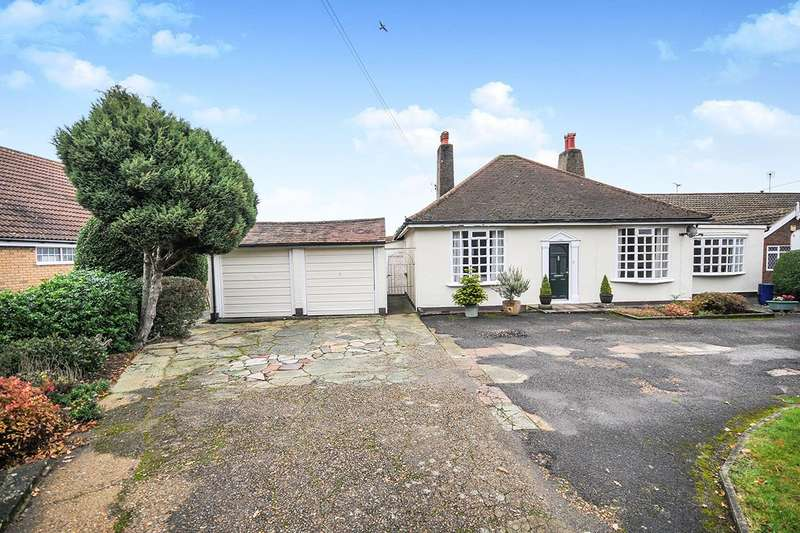 4 Bedrooms Detached Bungalow for sale in London Road, West Kingsdown, Sevenoaks, Kent, TN15