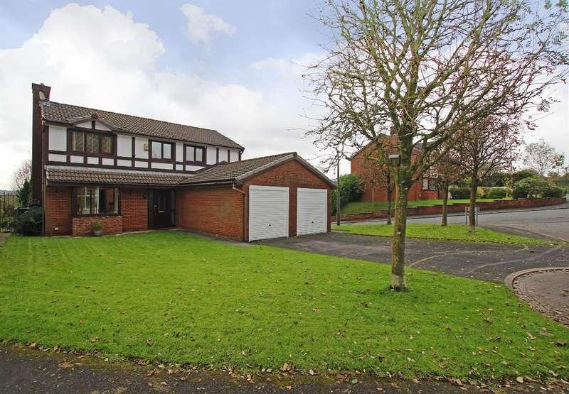 4 Bedrooms Detached House for sale in Jacks Key Drive, Darwen, BB3 2LG