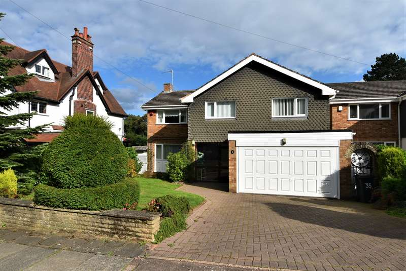 4 Bedrooms Detached House for sale in Meadow Hill Road, Kings Norton, Birmingham, B38