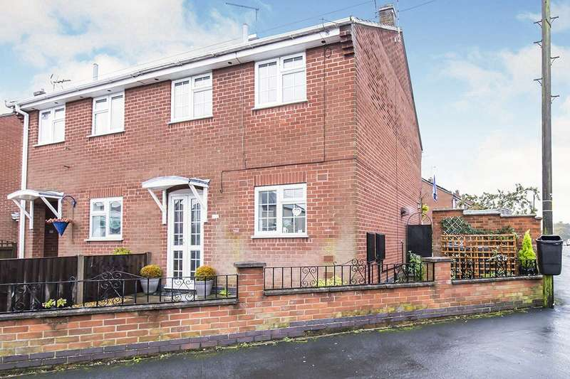 2 Bedrooms Semi Detached House for sale in Main Street, Newbold Verdon, Leicester, Leicestershire, LE9