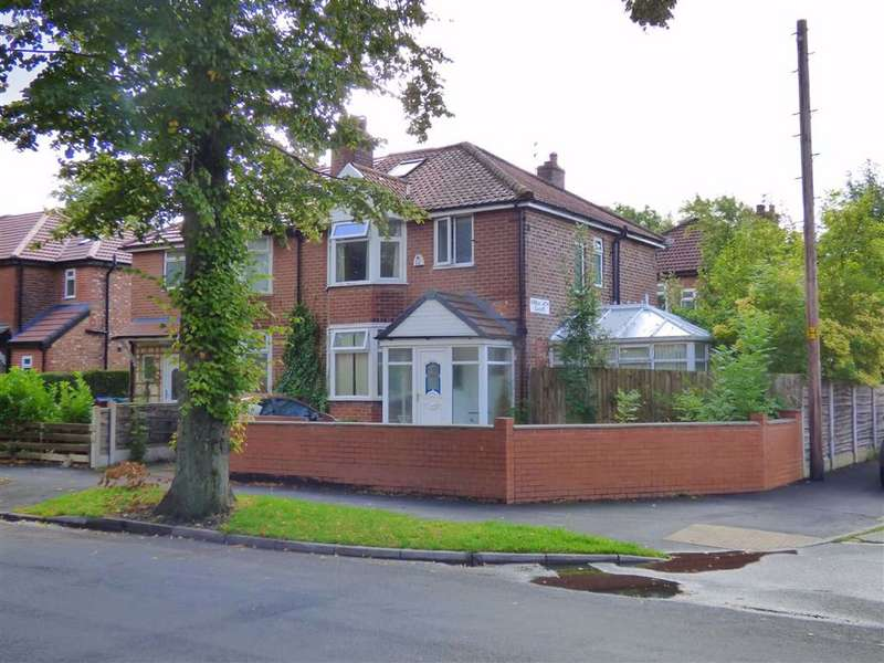 3 Bedrooms Semi Detached House for sale in Old Hall Lane, Longsight, Manchester, M13