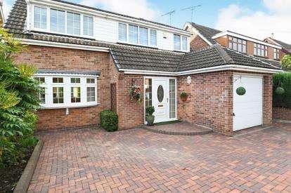 House for sale in Warren Drive, Linton, Swadlincote, Derbyshire