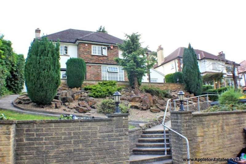 4 Bedrooms Detached House for sale in Riddlesdown Road, Purley