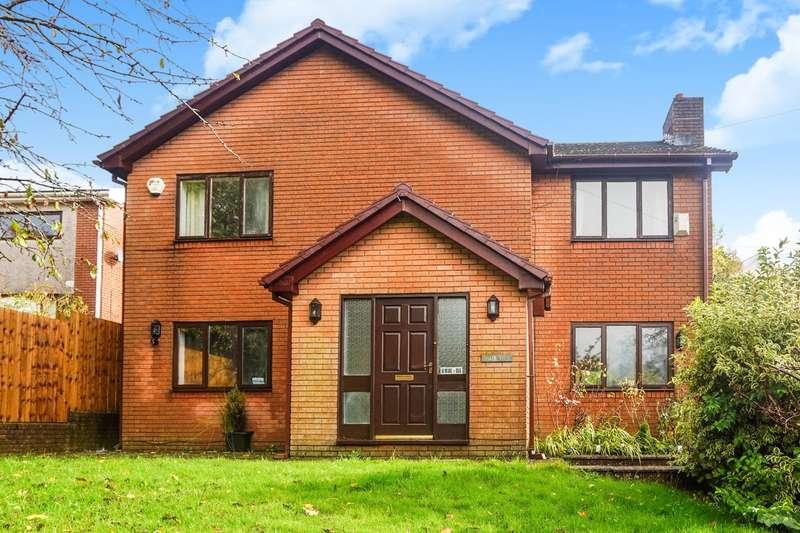 5 Bedrooms Detached House for sale in Victoria Road, Fleur de Lis, Blackwood, NP12