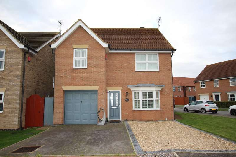4 Bedrooms Detached House for sale in OWMBY CLOSE, IMMINGHAM