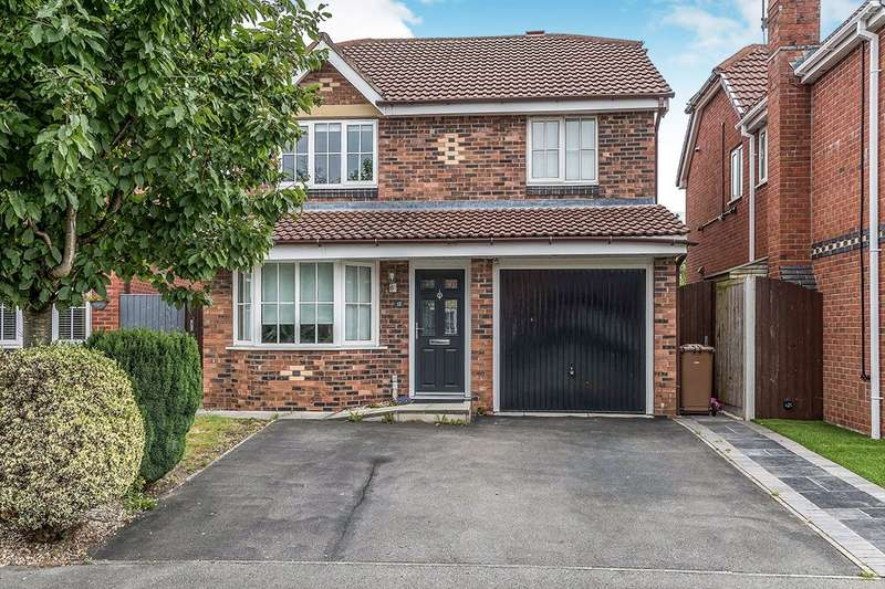 4 Bedrooms Detached House for sale in Anemone Way, St. Helens, Merseyside, WA9
