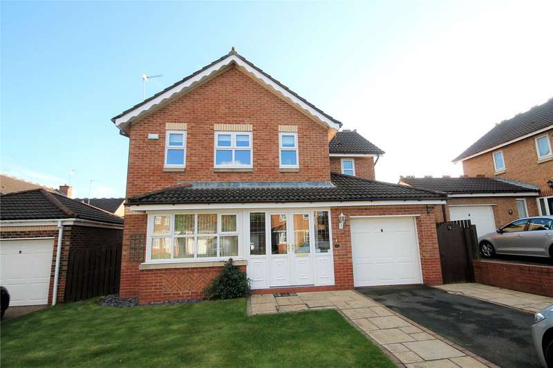 4 Bedrooms Detached House for sale in Bradman Drive, Riverside, Chester Le Street, DH3
