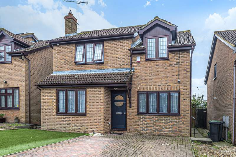 4 Bedrooms Detached House for sale in Oak Close, Harlington, LU5