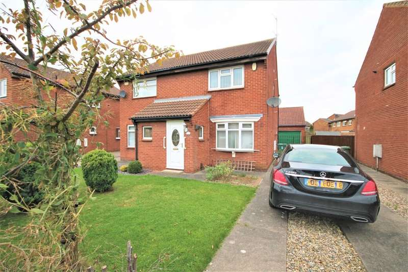 2 Bedrooms Semi Detached House for sale in Wansford Close, Billingham, TS23