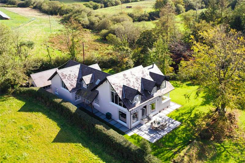 4 Bedrooms Detached House for sale in Bridgewater House, Wiston, Haverfordwest, Pembrokeshire