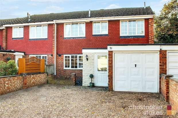 4 Bedrooms End Of Terrace House for sale in Frensham, Cheshunt, West Cheshunt, Hertfordshire