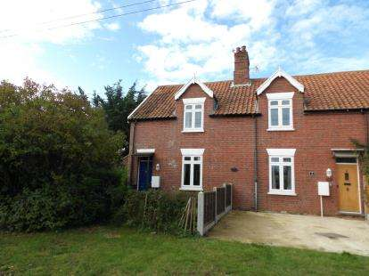 2 Bedrooms End Of Terrace House for sale in Ringstead Road, Sedgeford, Hunstanton