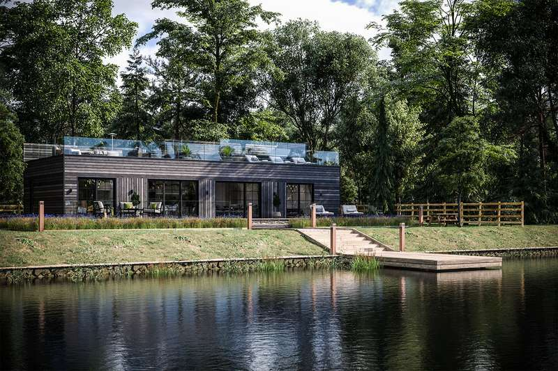 4 Bedrooms Lodge Character Property for sale in Retallack Resort Spa, Cornwall