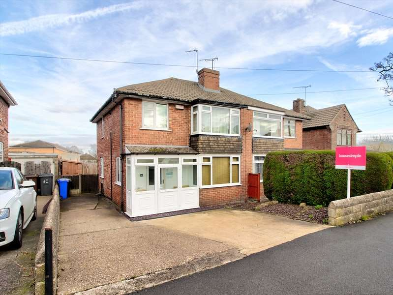 3 Bedrooms Semi Detached House for sale in Charnock Drive, Sheffield, South Yorkshire, S12