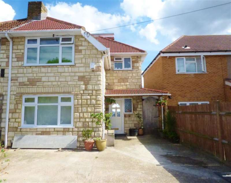 5 Bedrooms Semi Detached House for sale in Granville Avenue, TW3