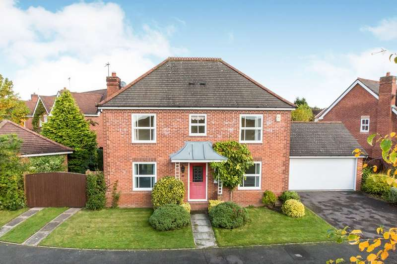 4 Bedrooms Detached House for sale in Needham Drive, Cranage, Crewe, Cheshire, CW4