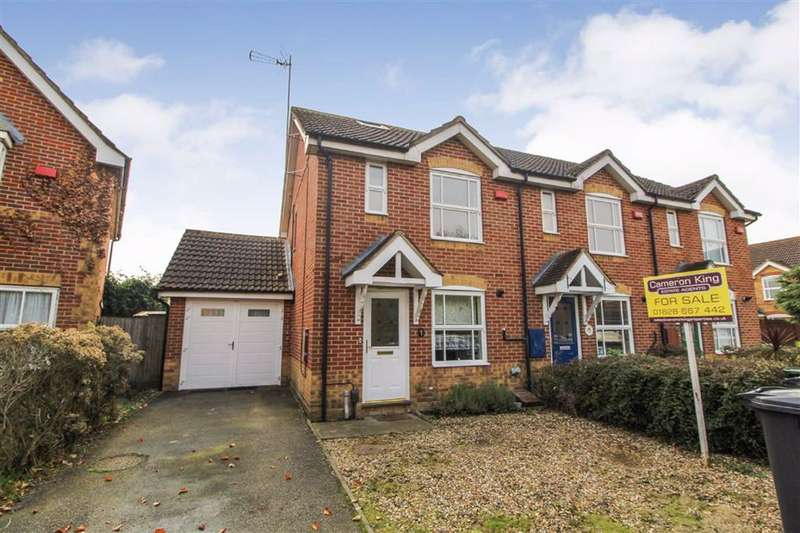 4 Bedrooms End Of Terrace House for sale in Dupre Close, Slough, Berkshire
