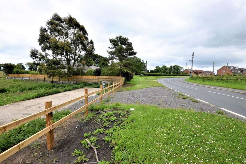 4 Bedrooms Plot Commercial for sale in Land To The West Of Eden Cottage, Station Town, Wingate, County Durham, TS27 5EZ