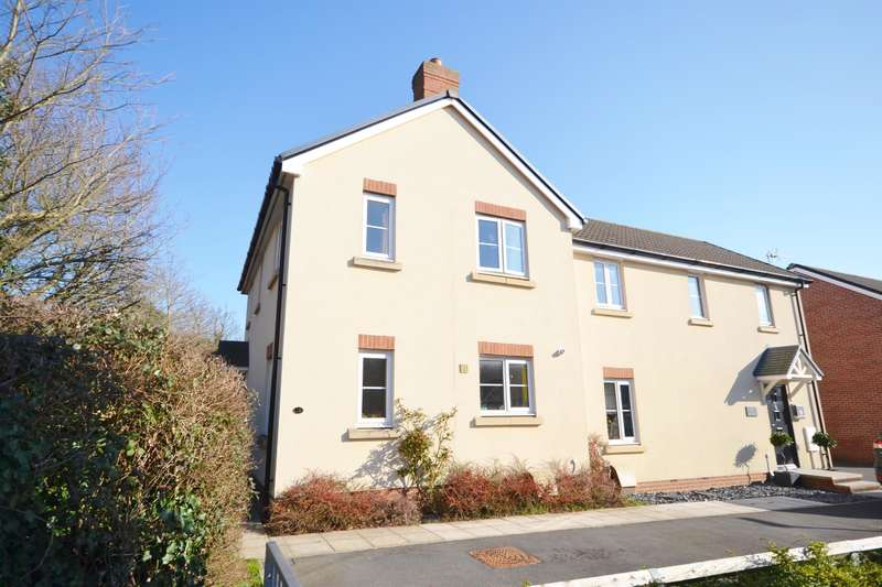 3 Bedrooms Semi Detached House for sale in Cromwell Close, Newtown, Berkeley, GL13 9GA