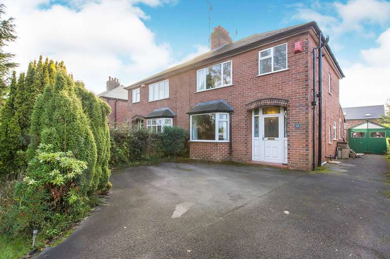 3 Bedrooms Semi Detached House for sale in Leek Road, Congleton, Cheshire, CW12